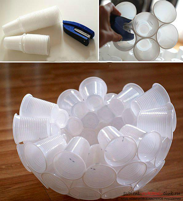 Новогодняя поделка: елка из пластиковых бутылок своими руками. новогодняя елочка из пластиковой бутылки самодельная елка из пластиковых бутылок