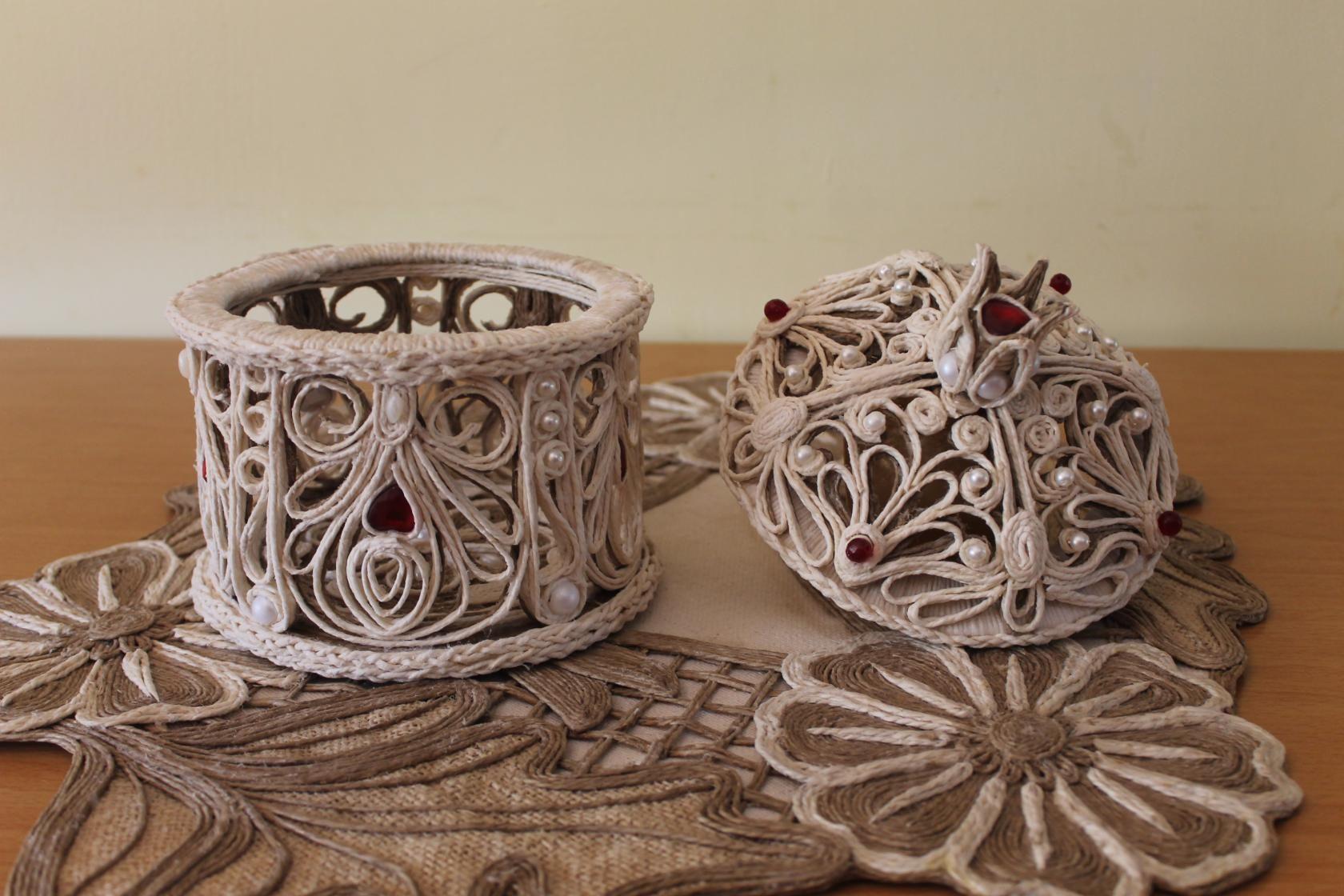 Поделки из веревки - 115 фото интересных поделок и их оформление при помощи веревки