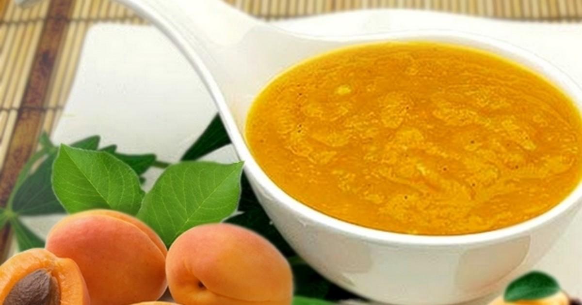 Польза абрикосового пюре для детей