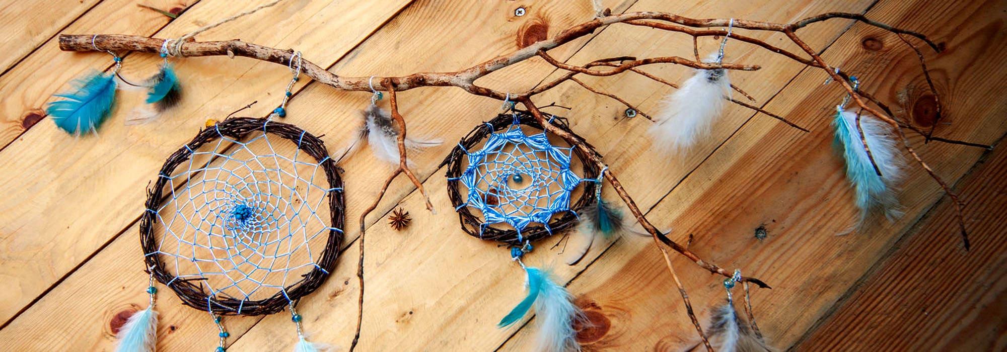 Ловец снов — красивый индейский амулет