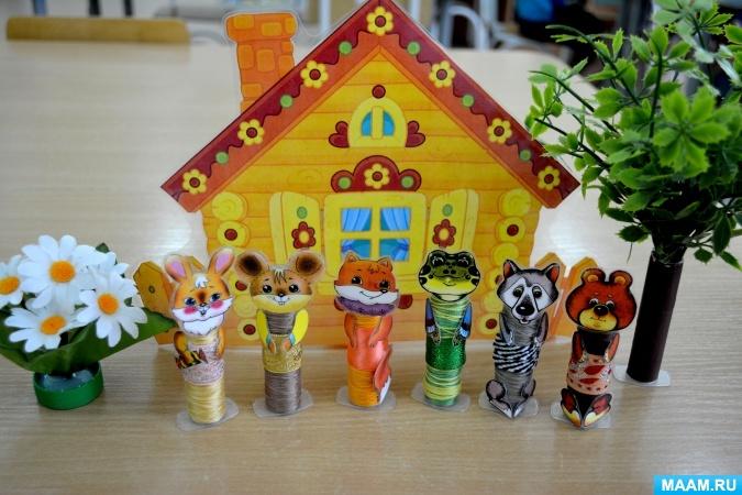 Мастер-класс по изготовлению пальчикового театра для детей младшего дошкольного возраста. воспитателям детских садов, школьным учителям и педагогам - маам.ру