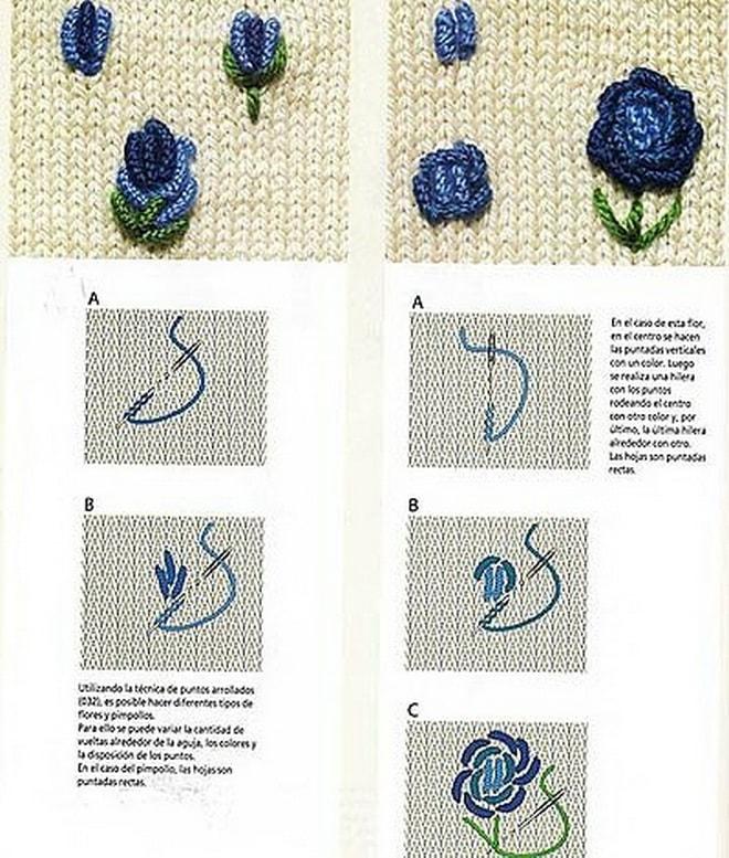 ✅ красивая вышивка в стиле «рококо» - eco-podarki.ru