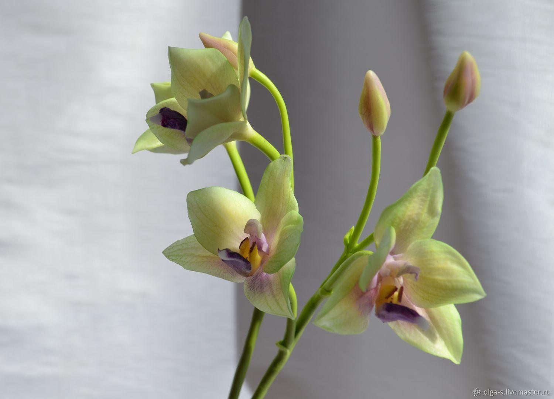 Цветы из холодного фарфора своими руками- пошаговая лепка для новичков