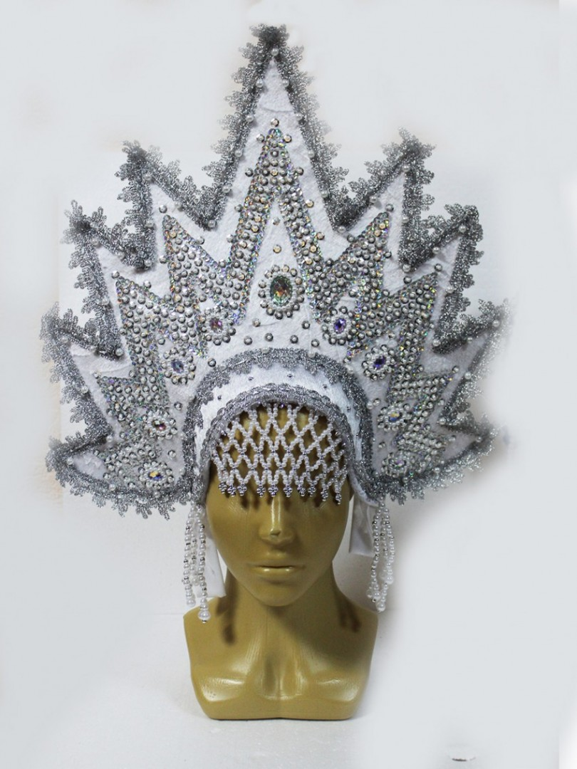 Корона для снежной королевы своими руками: мастер-класс с фото
