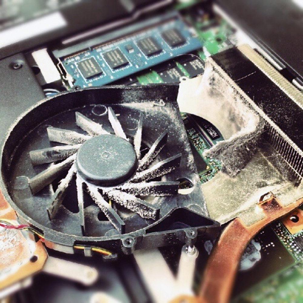Очистка вентилятора и кулера в пк и ноутбуке от пыли — лучшие способы