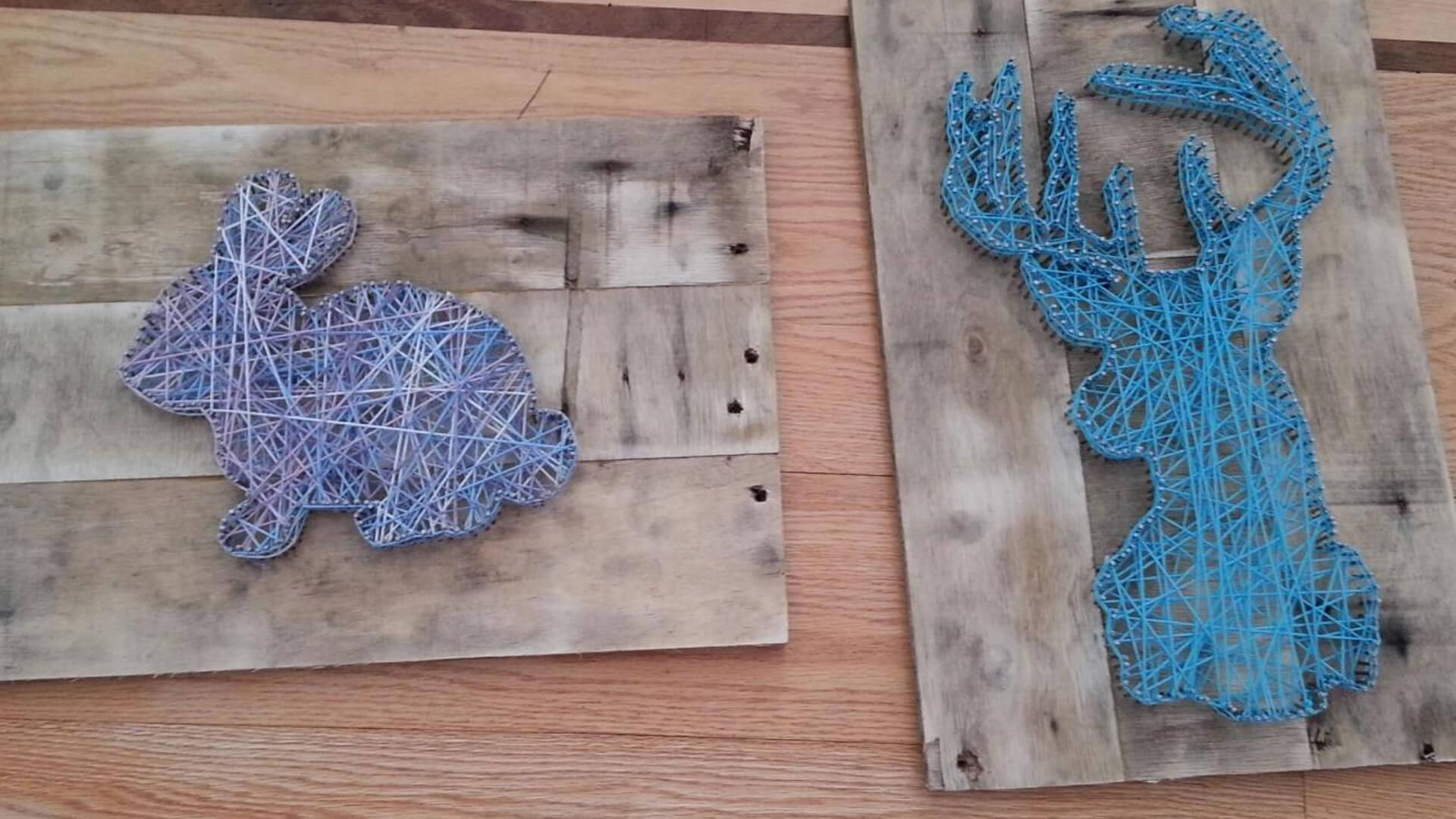 Панно из гвоздей и ниток: 70+ идей, которые вдохновят на создание шедевр
