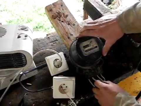 Суперизобретение бесплатная электроэнергия без смотки счетчика — своими руками
