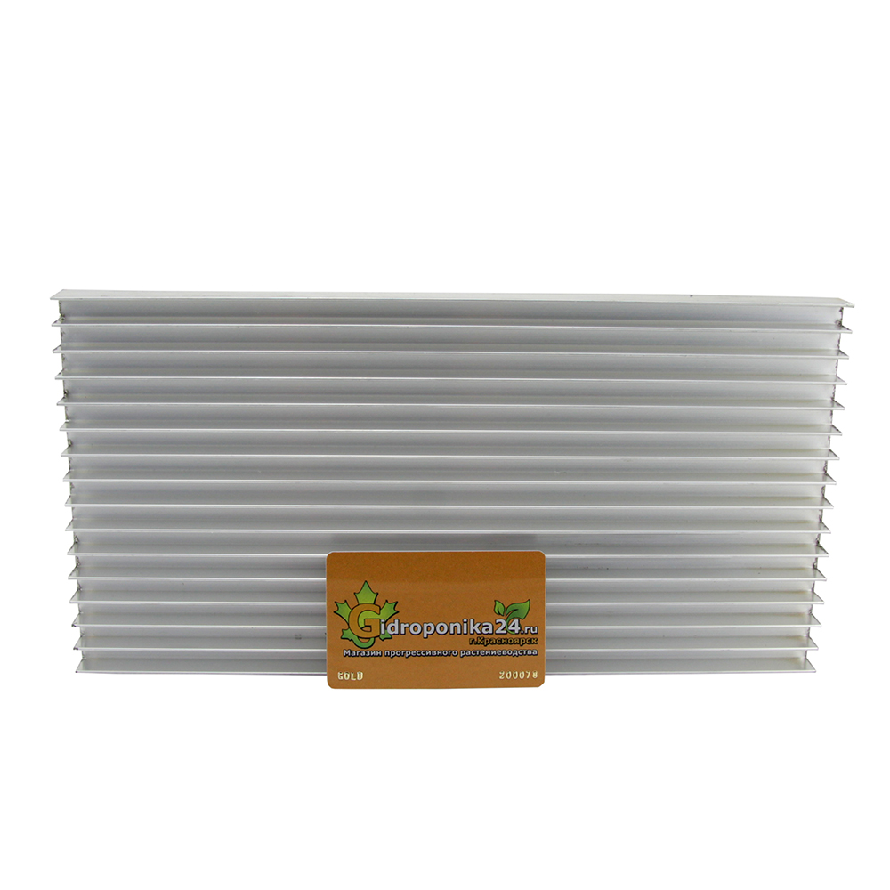 Расчет и изготовление радиатора для светодиодов