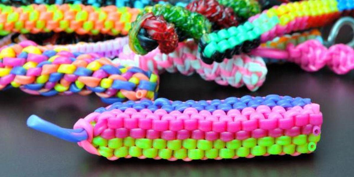 Плетение из трубочек: браслеты пошагово и схемы как сплести
