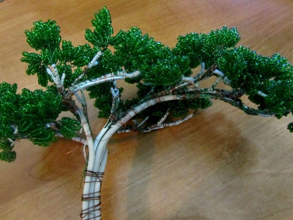 Бисероплетение— деревья: подробные мастер-классы для начинающих