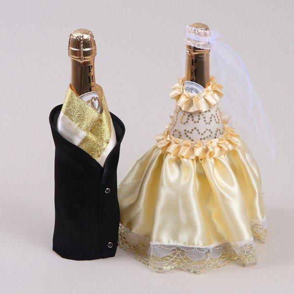 Лучшие идеи декора бутылки шампанского на новый год 2020