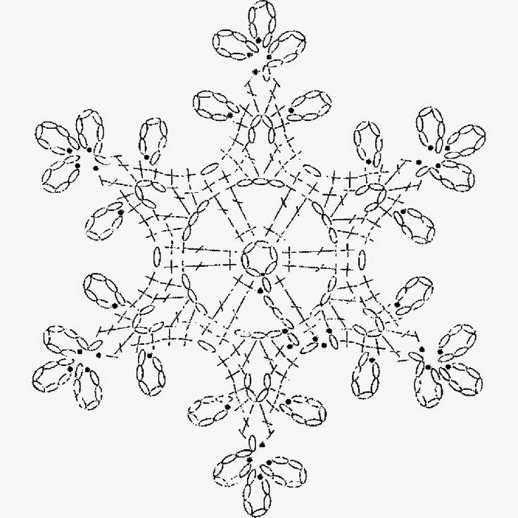 ᐉ сложные снежинки крючком схемы с описанием. вязание крючком снежинок ➡ klass511.ru