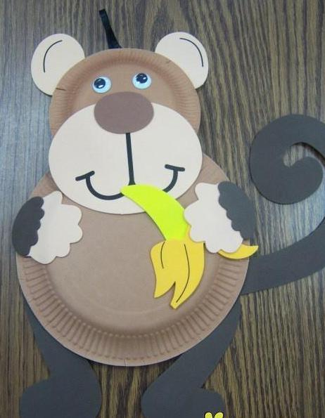 Поделка новогодняя обезьяна своими руками :: инфониак