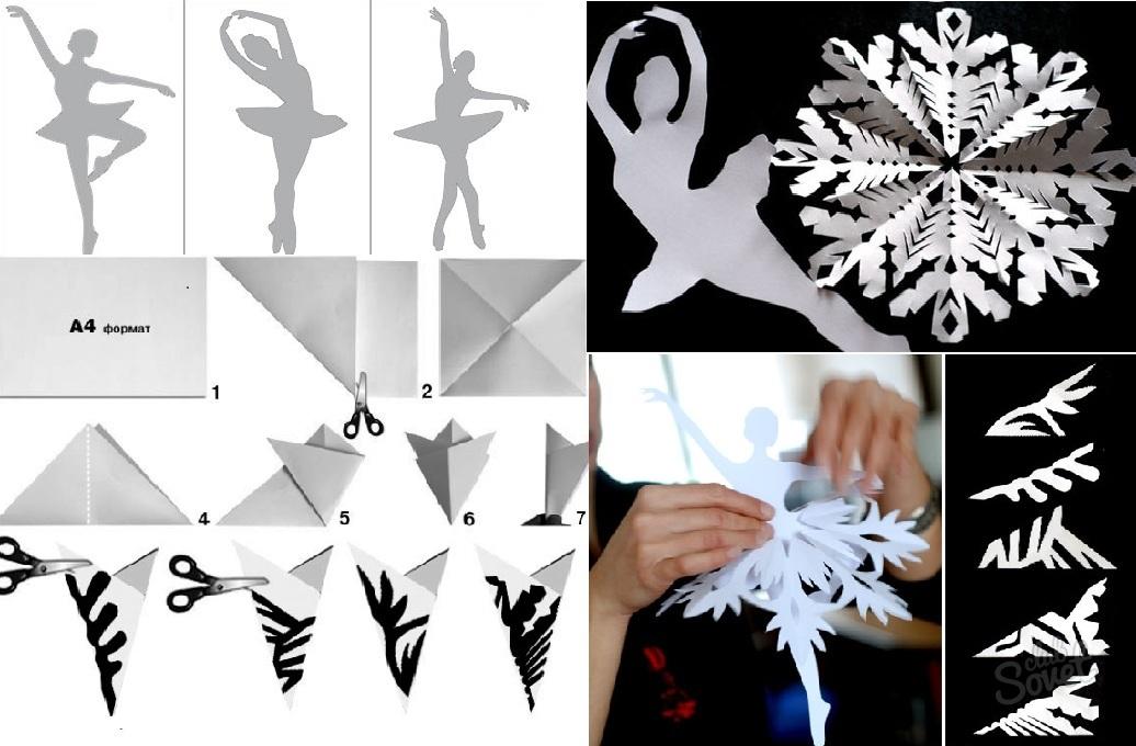 Декор для дома – балерина из салфетки — своими руками