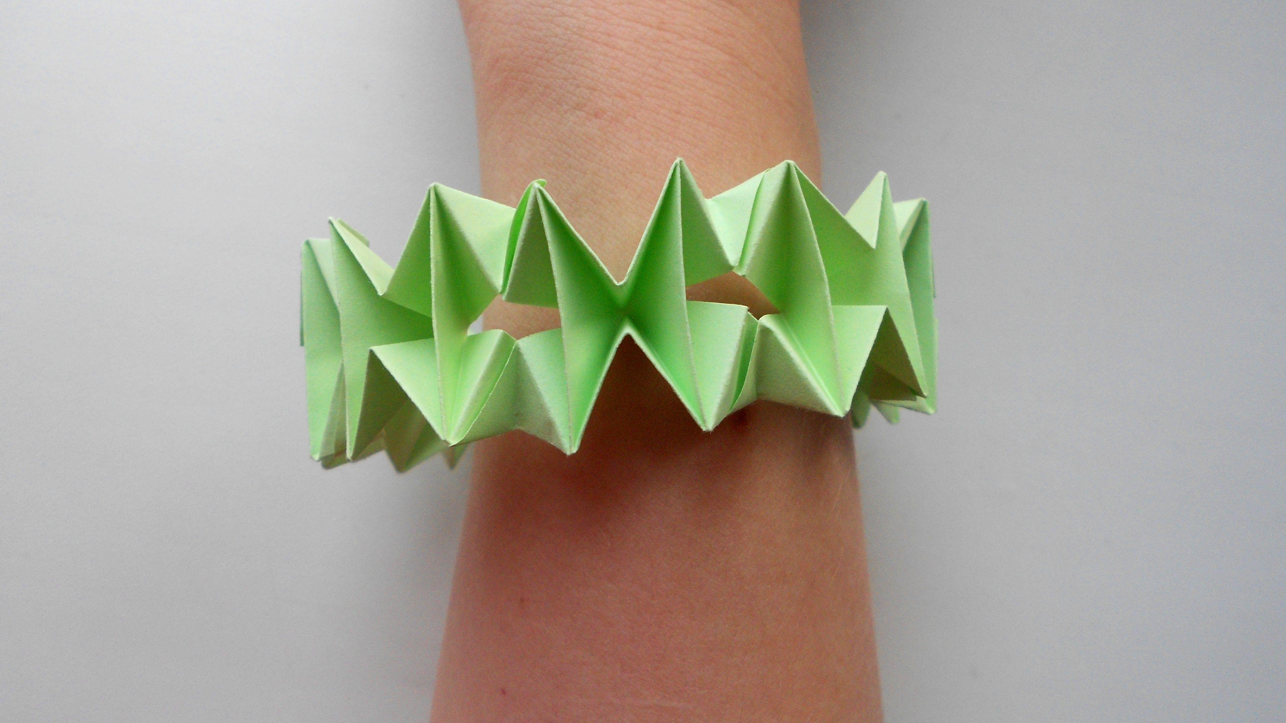 Как сделать браслет из бумаги легко и быстро :: syl.ru