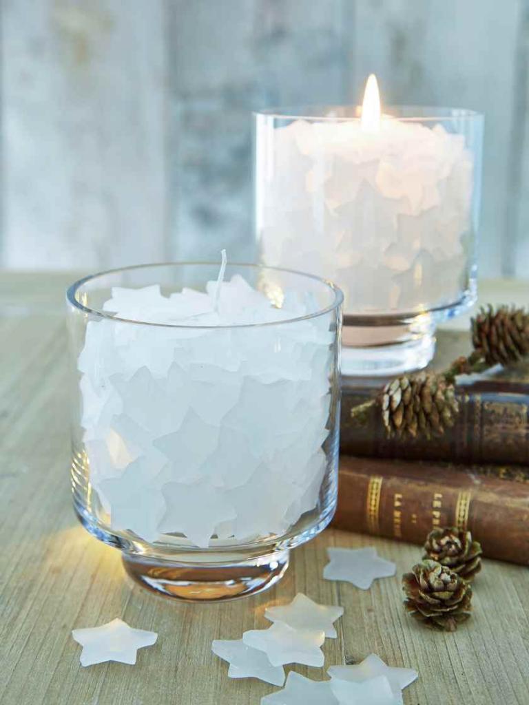 Новогодний декор свечей (41 фото): декупаж свечей на новый год своими руками, мастер-класс по созданию композиции для начинающих