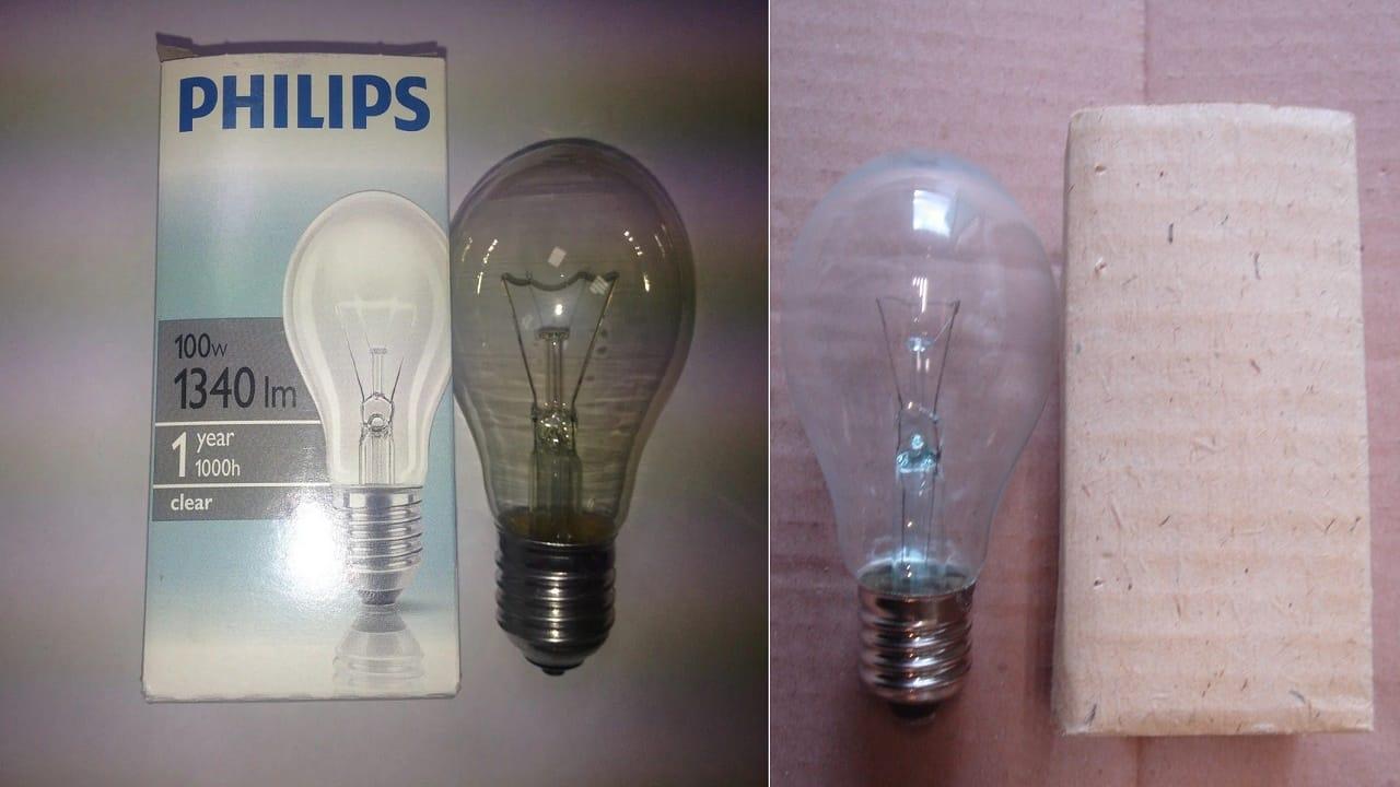 Лампа накаливания ещё послужит !