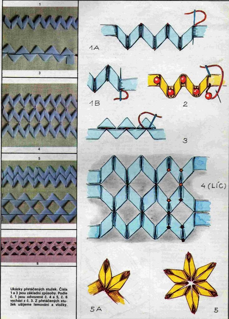 Плетение фенечек из лент своими руками, 4 мастер-класса