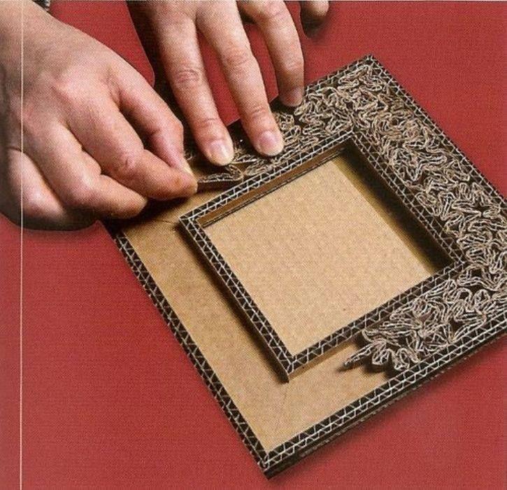 Рамка для картины: изготовление из дерева (простой и усиленной), плинтуса, двп, картона