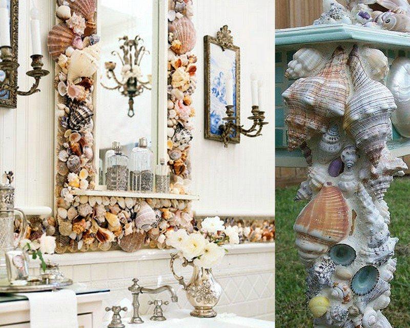 Дары моря для украшения дома: морской стиль интерьера