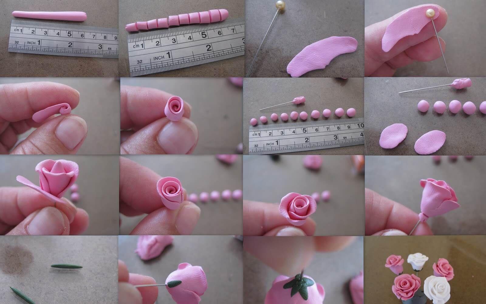 Цветы из полимерной глины (мастер-классы) :: инфониак