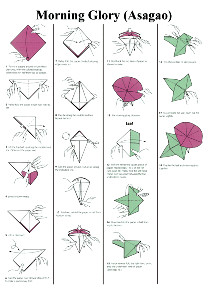 Оригами из бумаги для начинающих: 10 легких схем