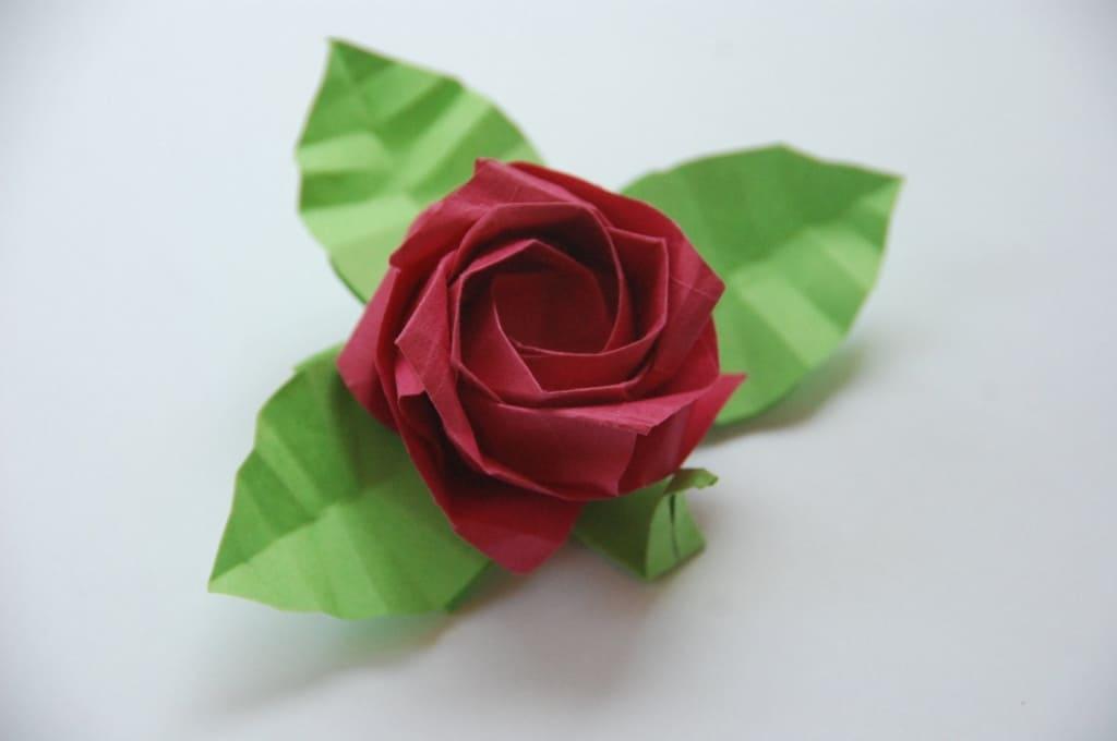 Оригами роза - схемы для начинающих, пошаговая инструкция. этапы подготовки, создание простого цветка. шар кусудама, розочка кавасаки. изготовление по паттерну