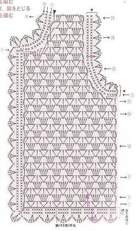 Безрукавка крючком со схемами: вязаные жилеты для начинающих