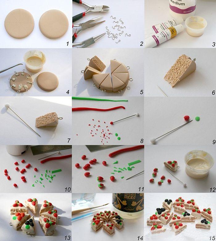 Поделки из полимерной глины своими руками - обзор видов материала, пошаговые инструкции, фото идеи