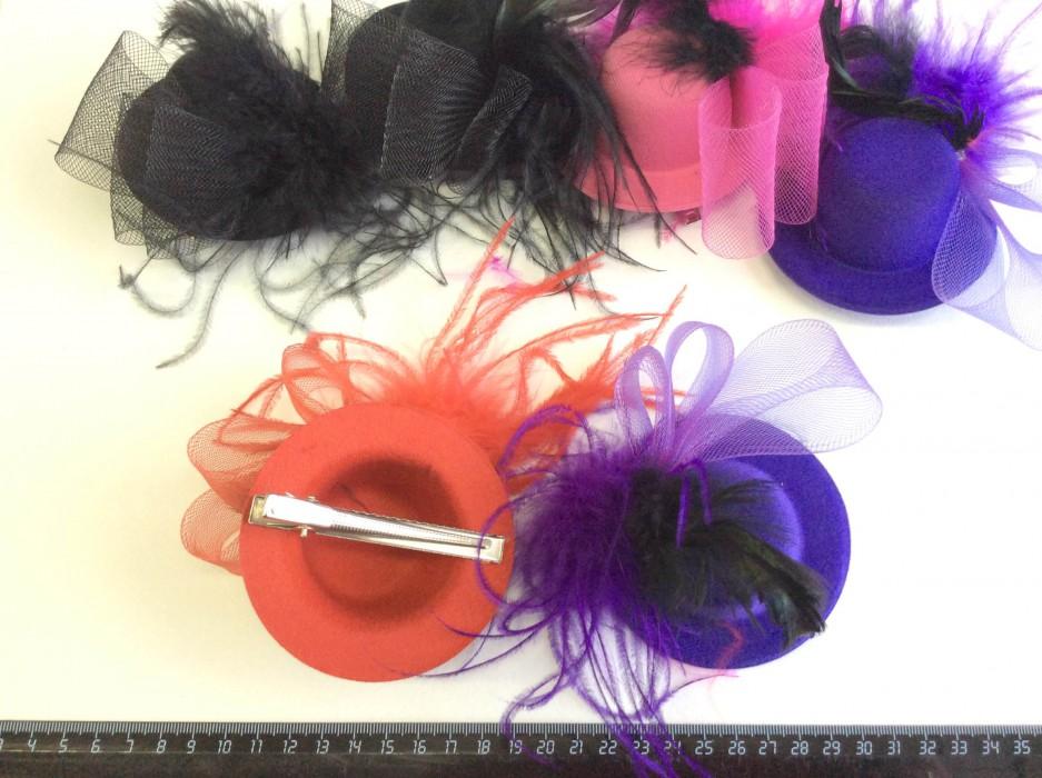 Резиночки для волос - шляпки | страна мастеров