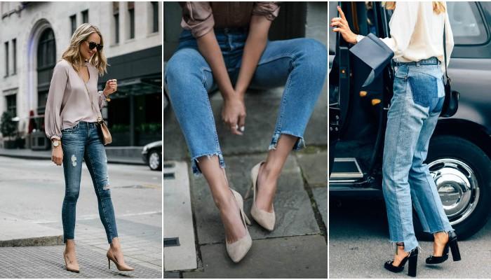Как обрезать джинсы внизу по модному в домашних условиях в 2020: фото-идеи пошагово