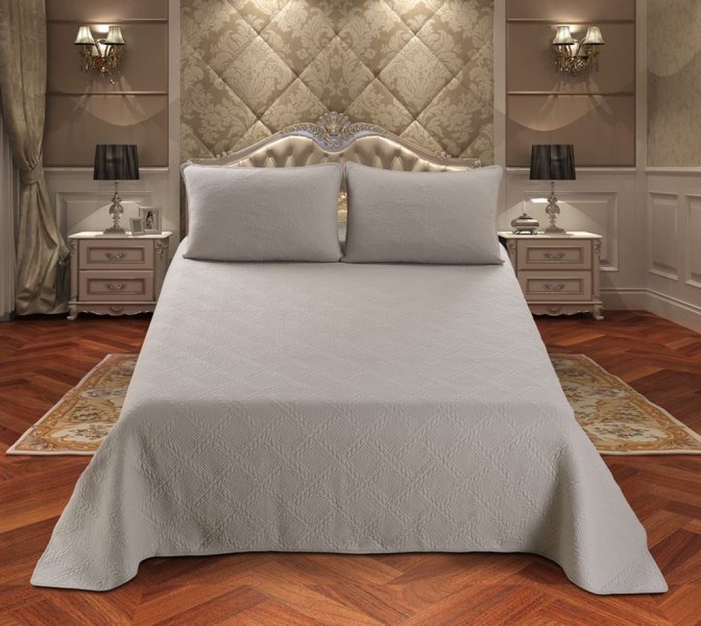 Покрывало на кровать в спальню в современном стиле: своими руками, выбор инструментов и материалов