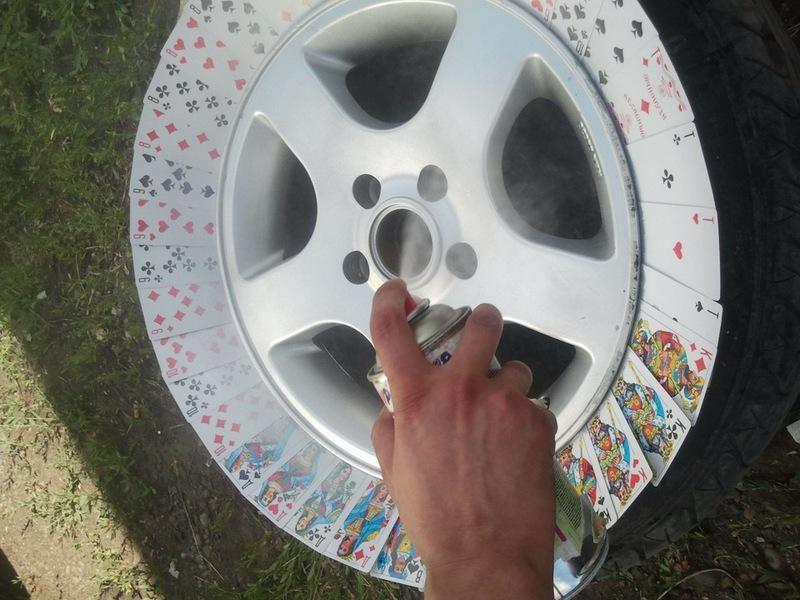 О реставрации колесных дисков на авто