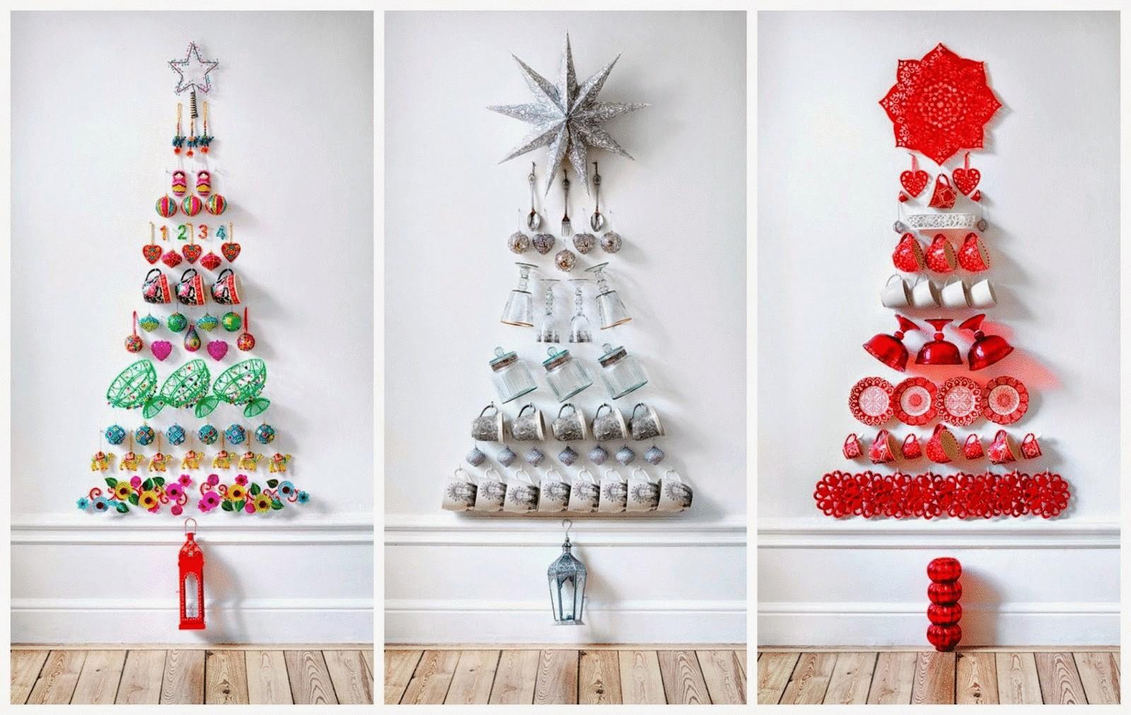 Новогодние ёлки своими руками- идеи и мастер классы с фото и видео