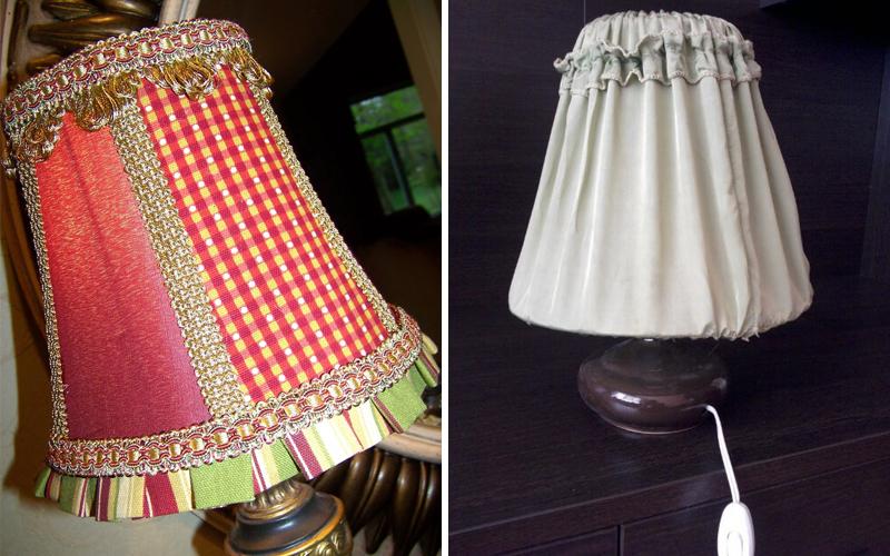 Абажур для настольной лампы своими руками: 50 лучших идей