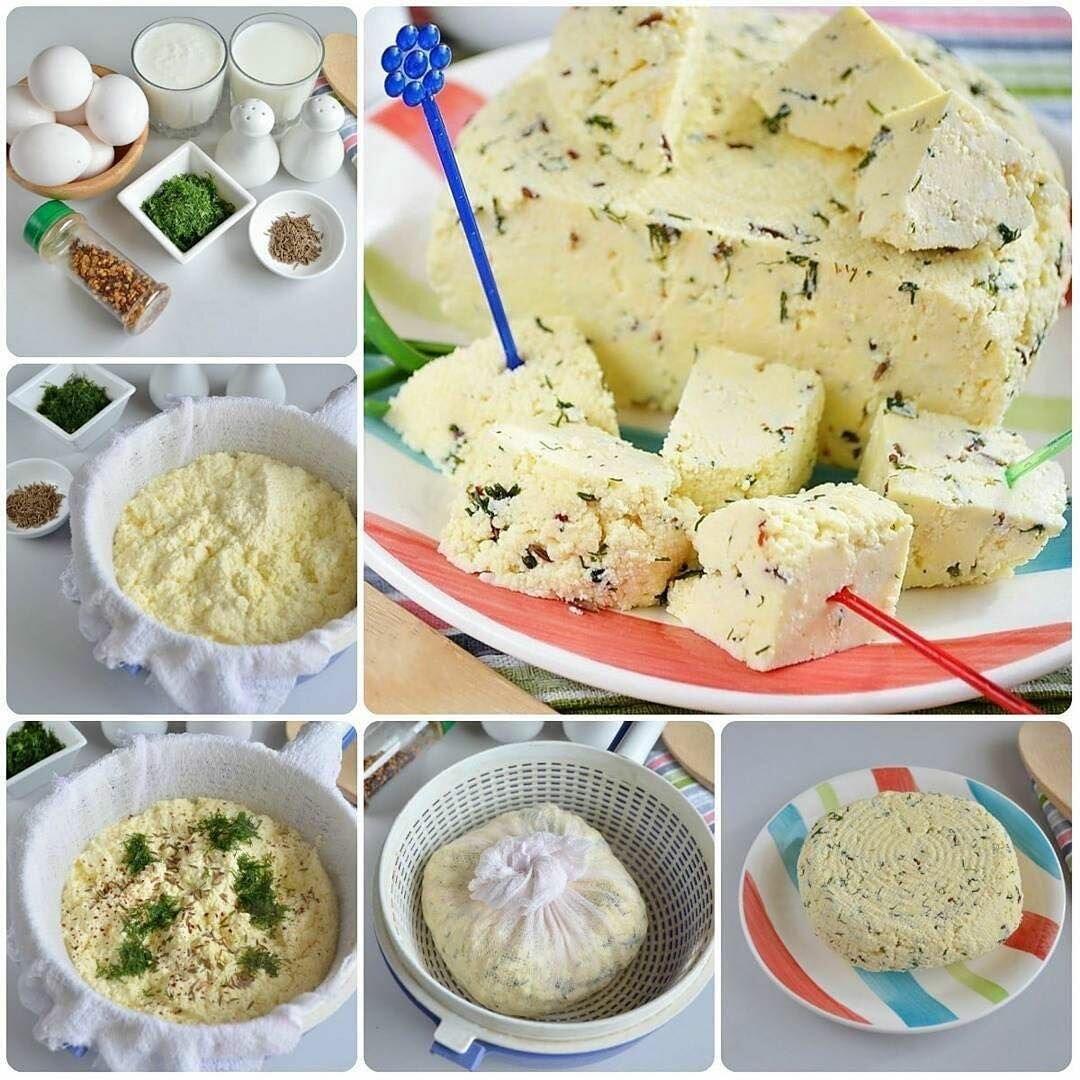 Домашний сыр из творога - рецепты твердого и плавленного продукта, сулугуни и моцареллы