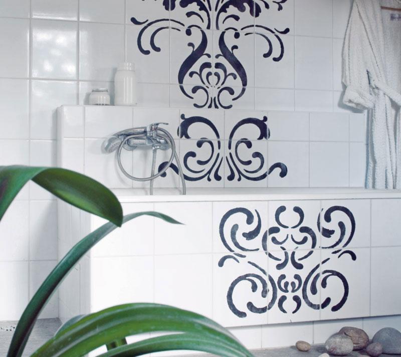 Наклейки на плитку на кухне: декор плитки керамической и декоративной, виниловые наклейки для обновления плитки, фото, видео-инструкция