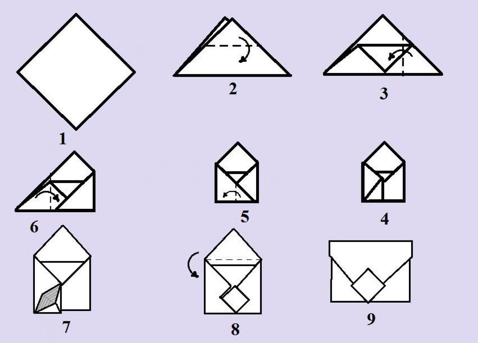 Конверты из бумаги - 48 идей - сделай сам - медиаплатформа миртесен