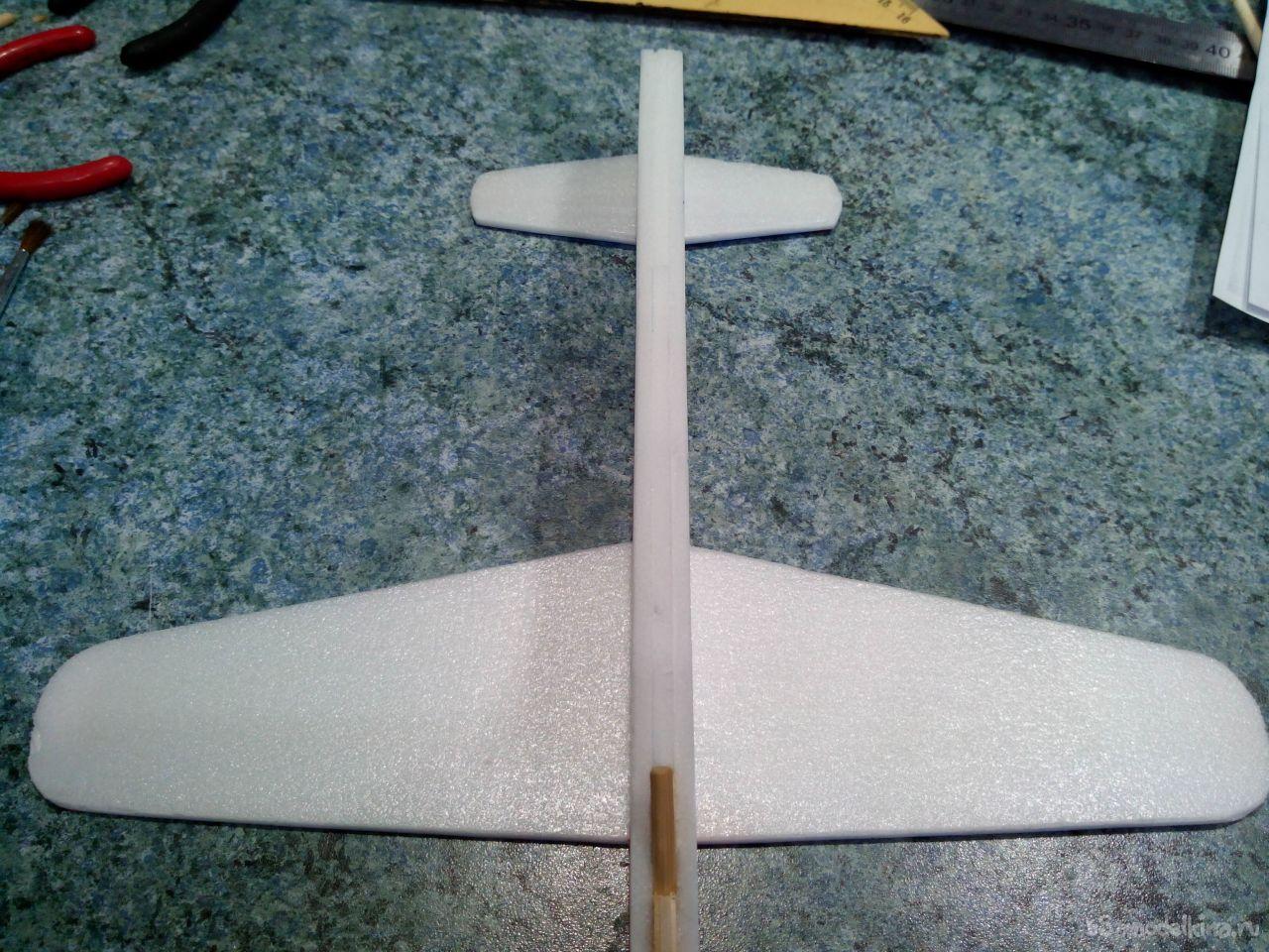 Как сделать самолёт ? из пенопласта своими руками: чертежи летающей модели