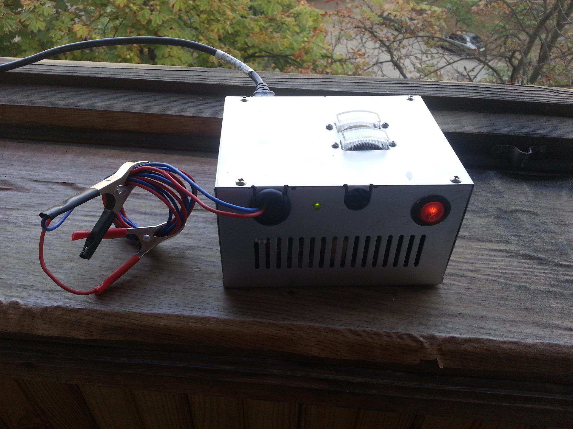 Переделка блока питания ат в зарядное устройство