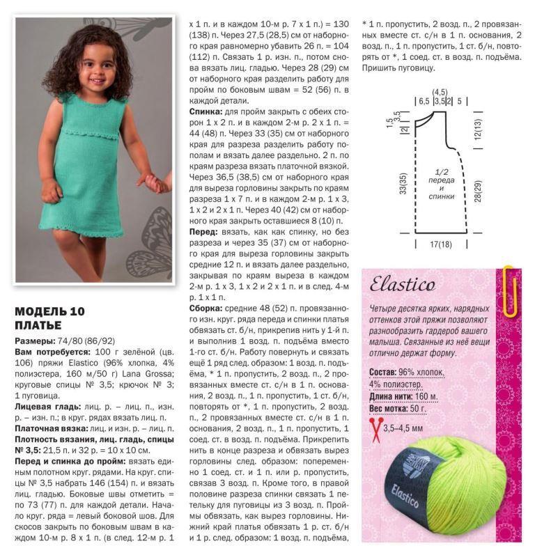 Вязаные платья для девочек спицами. 20 бесплатных моделей платьев для девочки на knitka.ru - вязание спицами.
