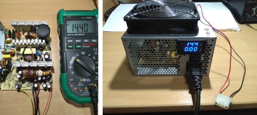 Сделаем зарядное устройство из блока питания компьютера