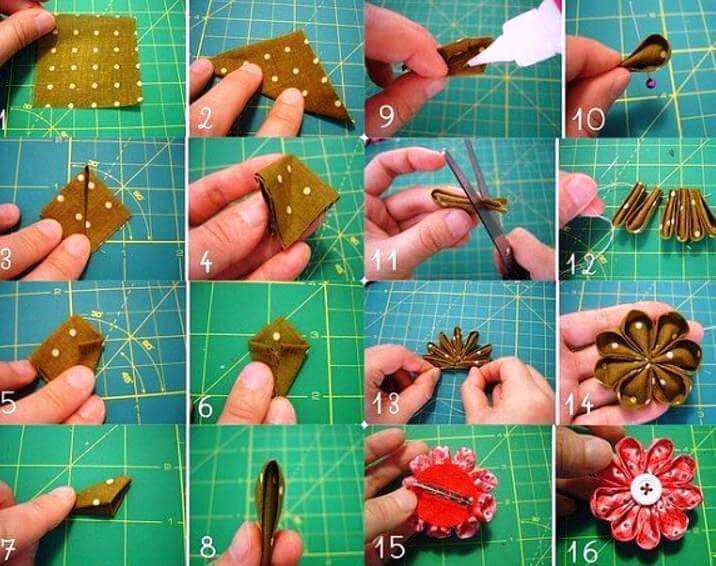 Заколки своими руками: пошаговое описание и мастер-класс изготовления украшений (85 фото)