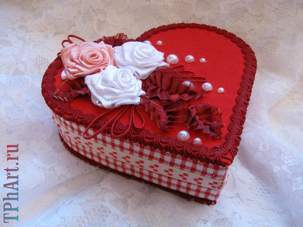 Поделка изделие валентинов день бисероплетение оригами китайское модульное шкатулочка ко дню всех влюблённых бисер бумага клей проволока