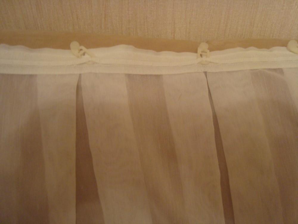 Удлинение, подшивание и обрезка штор своими руками