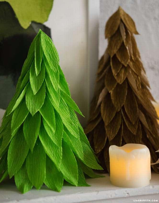 ᐉ веточка ели из бумаги своими руками. объемная елка из бумаги: схемы и шаблоны. как сделать объемную елку из гофрированной бумаги на новый год ✅ igrad.su