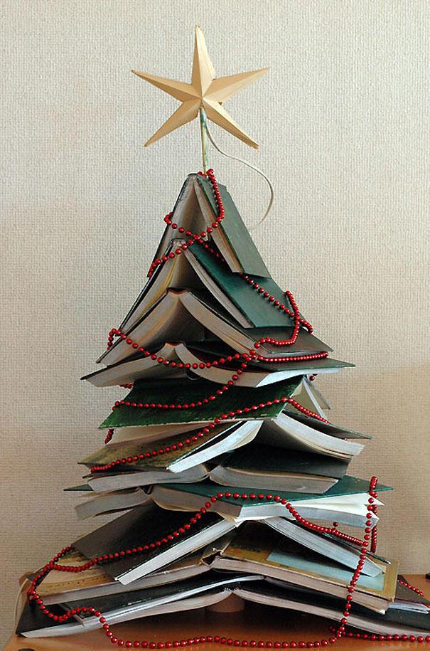 Отличные идеи, как сделать новогоднюю елку своими руками (25 фото) | тренды (огород.ru)