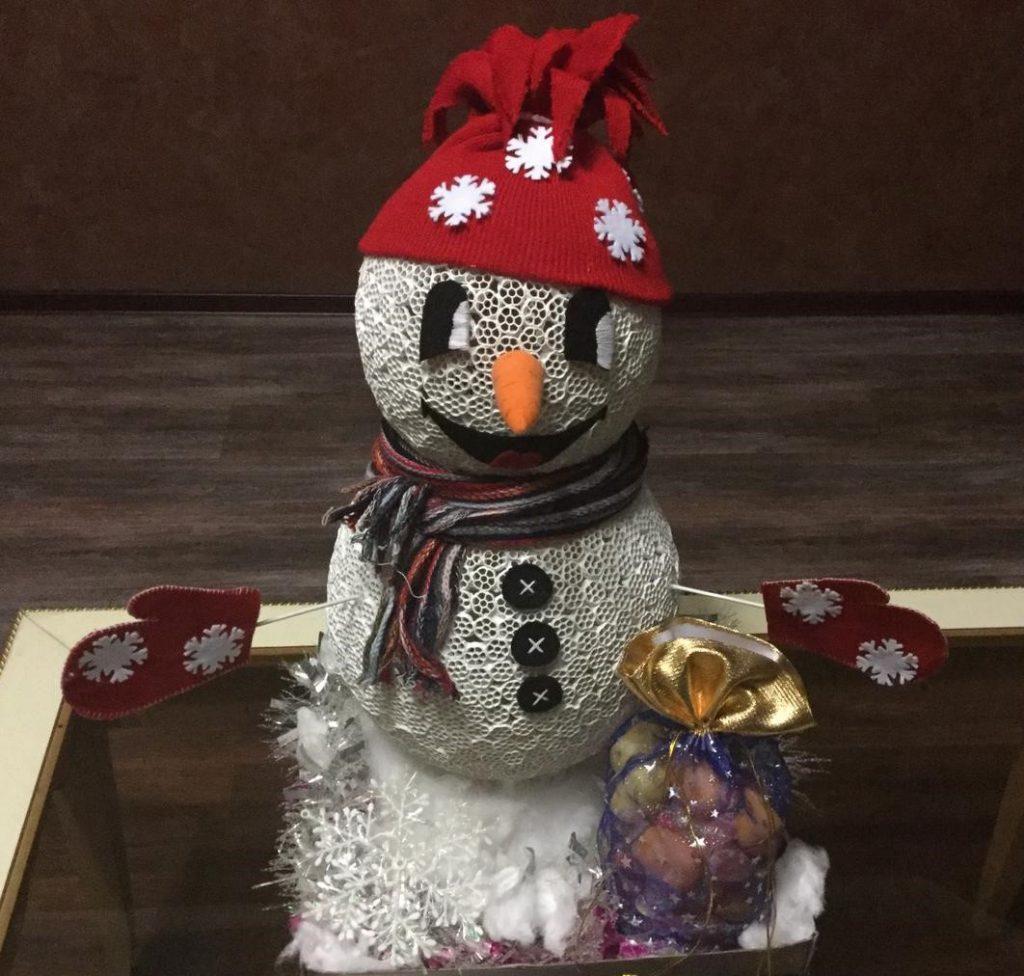 Поделка снеговик: из чего сделать своими руками, если нет снега — 5 креативных способов и 60 фото