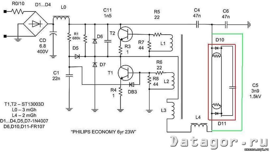 Продление срока службы светодиодных ламп. понижение тока/ремонт — технический блог