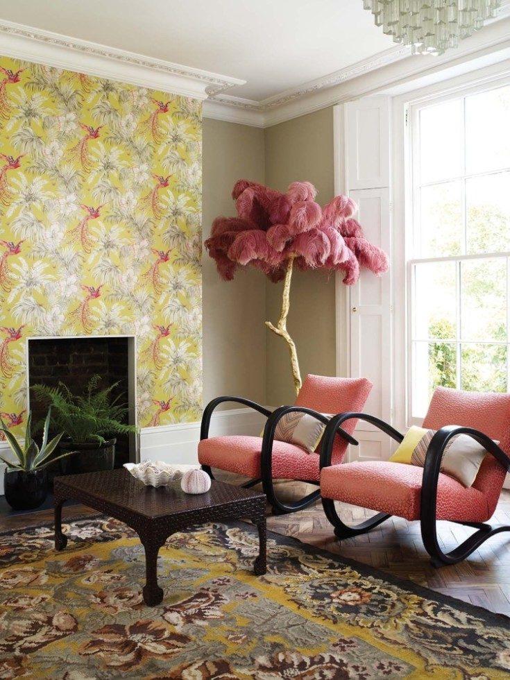 Способы создания оригинального дизайна комнат с помощью фотообоев